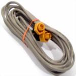 000-0127-30 Ethernet Kabel Gelb 5-pin, 7.7m für Simrad, Lowrance und B&G