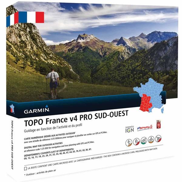 Topo Frankreich v4 Süd-West Pro von Garmin