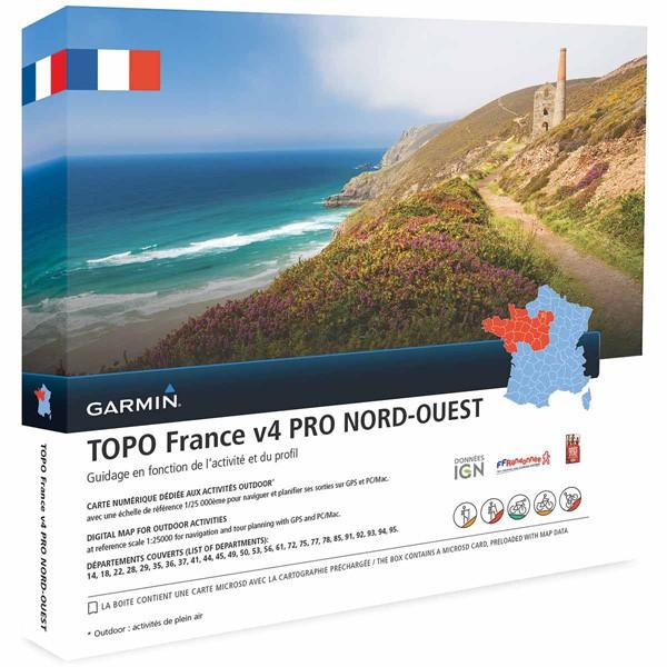 Topo Frankreich v4 Nord West Pro von Garmin