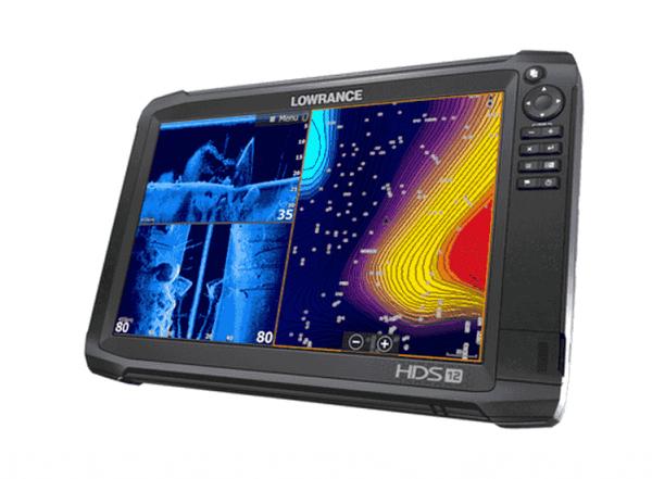 HDS 12 Carbon Echolot und Kartenplotter von Lowrance