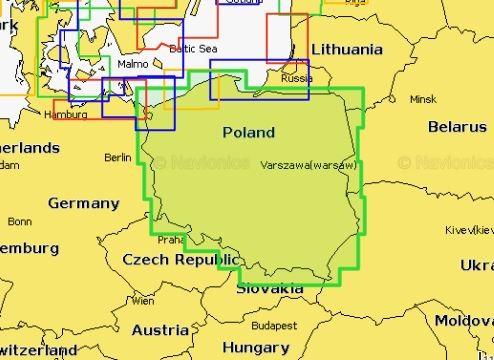 Navionics+ 5G404S Polen Binnengewässer online günstig bestellen