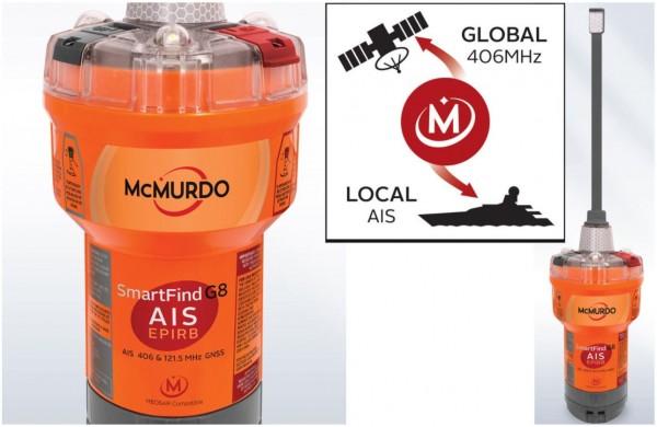 McMurdo G8 EPIRB mit AIS
