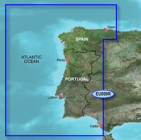 010-C0767-00 VEU009R BlueChart g2 Vision Portugal und Nordwest Spanien