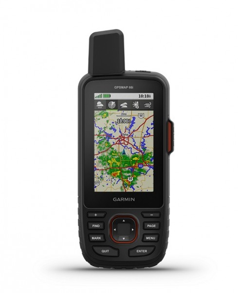 GPSMAP 66i GPS-Handgerät und Satellitenkommunikation