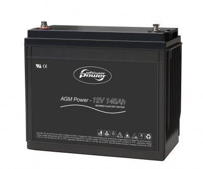 145 Ah AGM Batterie 12V von WhisperPower