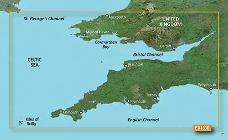 HXEU463S BlueChart g2 HD Bristol Kanal und England von Garmin