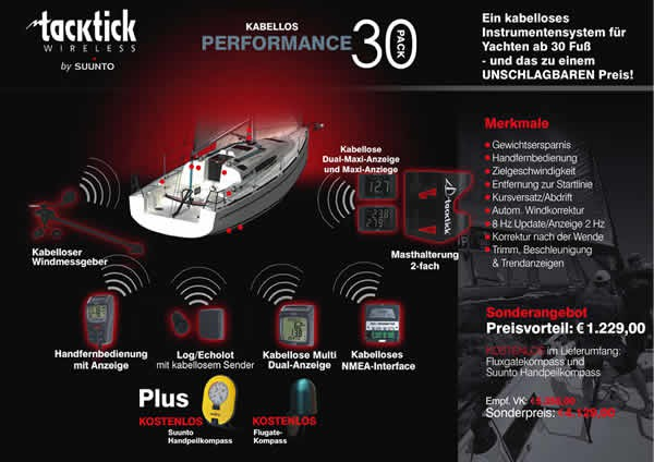 tacktick Performance 30 Pack