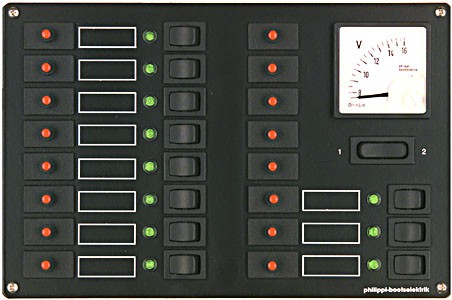 Philippi Stromkreisverteiler STV 311/5 - 12 V