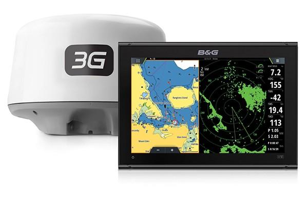 B&G Vulcan 12 3G Radar Multifunktionsdisplay