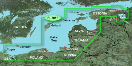 HXEU505S BlueChart g2 HD östliche Ostsee