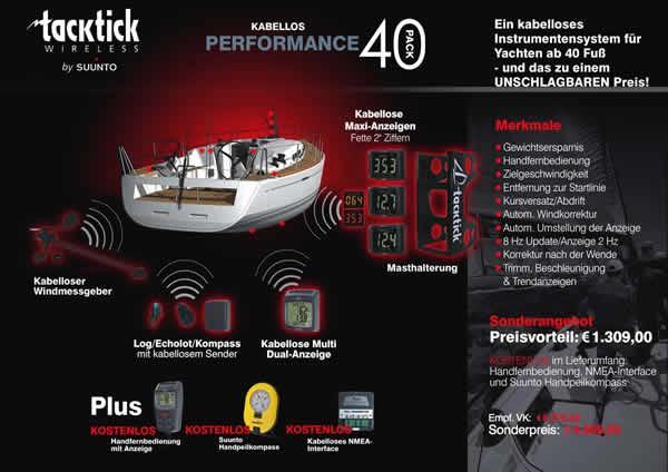 tacktick Performance 40 Pack