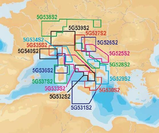 5G539S2 Navionics Gold small2 Italienische Seen und Po