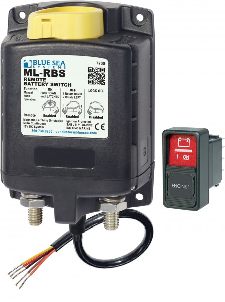 Blue Sea 7700 Fernsteuerbarer Batteriehauptschalter