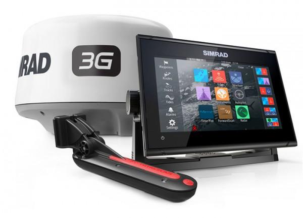 Simrad GO7 XSR GPS MFD 3G Radar im Set