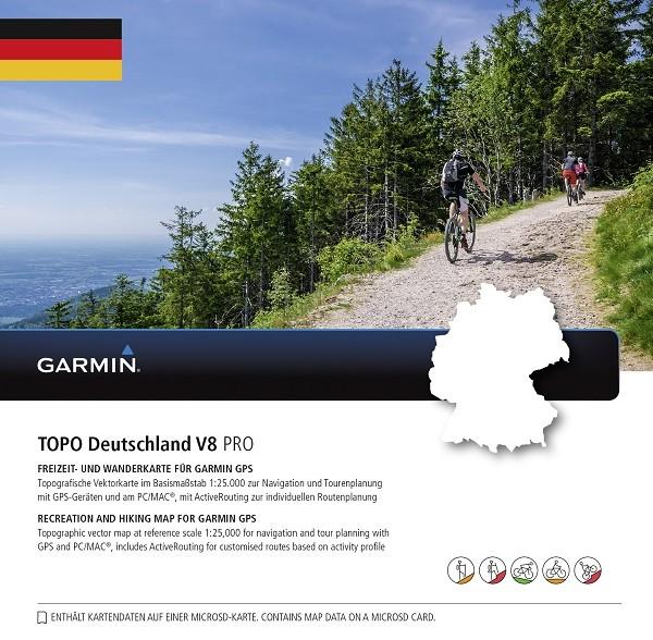 010-11288-06 Garmin TOPO Deutschland V8 PRO Gesamt MicroSD