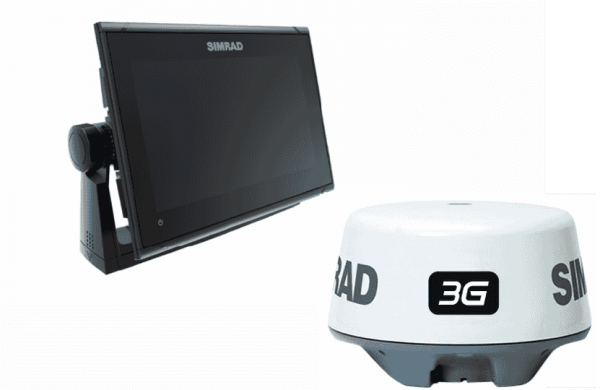 Simrad Go9 XSE Total Scan 3G Bundle