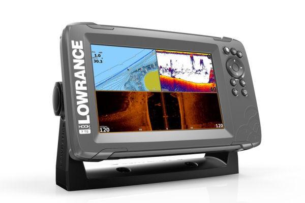 HOOK² 7 TripleShot + GPS-Kartenplotter (+ Geber)