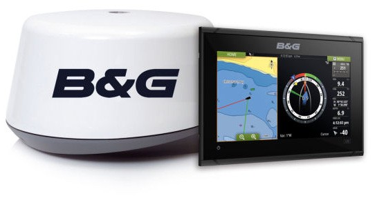 B&G Vulcan 9 3G Radar Multifunktionsdisplay