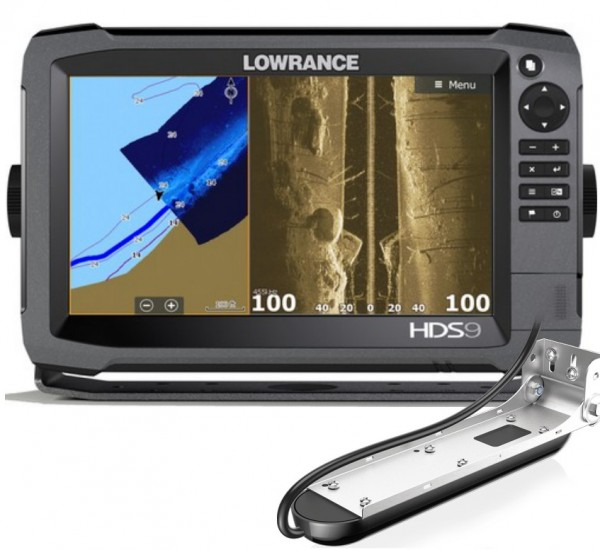000-13266-001 Lowrance HDS-9 mit TotalScan Geber
