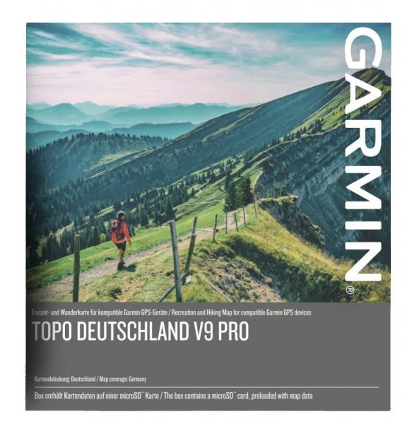 TOPO DEUTSCHLAND V9 PRO microSD-Speicherkarte von Garmin
