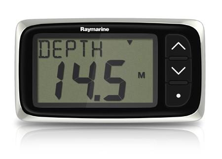 i40 Echolot Instrument mit Spiegelheckgeber von Raymarine