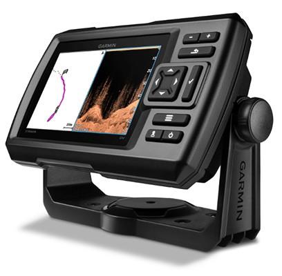 Striker 5dv CHIRP-Fishfinder mit GPS und DownVü-Echolot