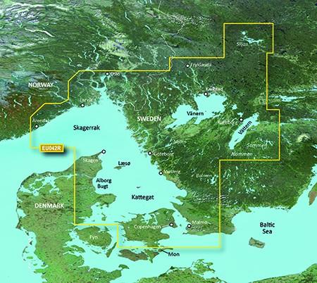 HXEU042R BlueChart g2 HD Oslo bis Trelleborg