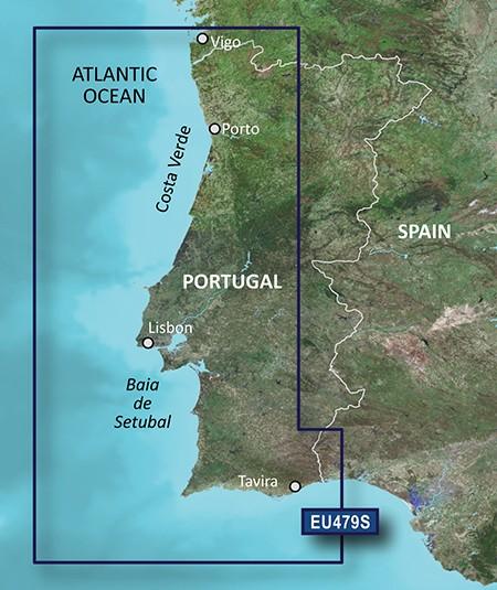 HXEU479S BlueChart g2 HD Portugal von Garmin