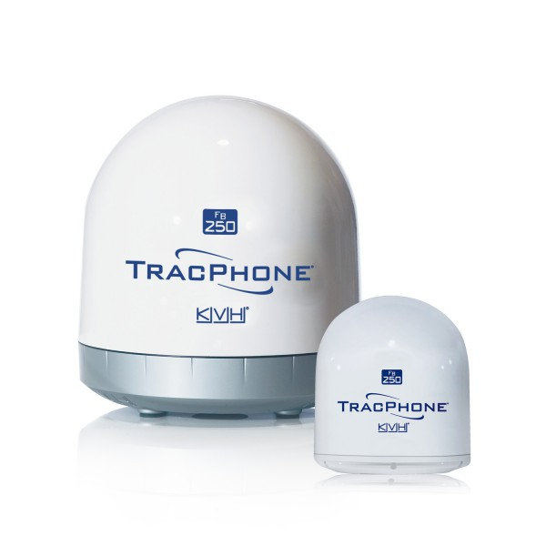 KVH TracPhone FB 250 Fleet Broadband-Antenne, kompakt