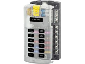 BS5026 Sicherungsblock 12 Schaltkreise für ATO/ATC Sicherungen von BlueSea bestellen