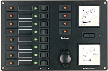Philippi Stromkreisverteiler STV 308/4 12 V