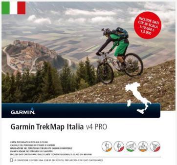 Garmin TrekMap Italien V4 Pro