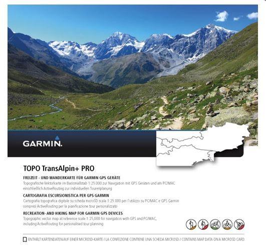 010-11404-04 Topo Transalpine+ Pro microSD von Garmin