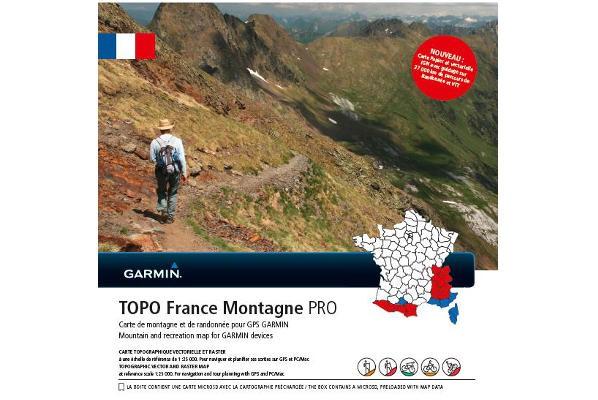 Topo Frankreich Montagne PRO von Garmin