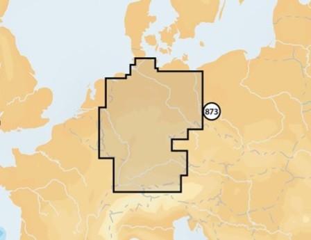 Navionics+ small 5G873s Deutschland Binnen