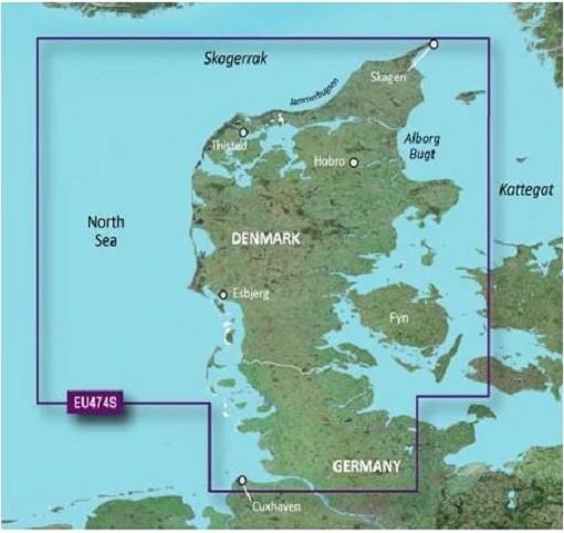 veu474s Garmin Nord Dänemark und Eider