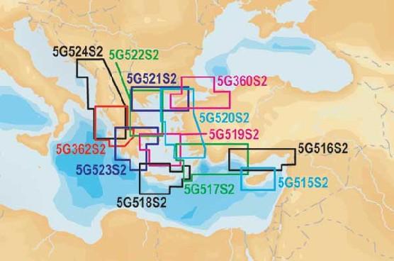 5G362S2 Navionics Gold small2 Korfu - Patrai