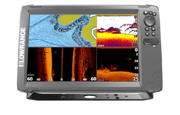 Hook2 12 Kombigerät TripleShot und GPS-Kartenplotter (mit Geber)