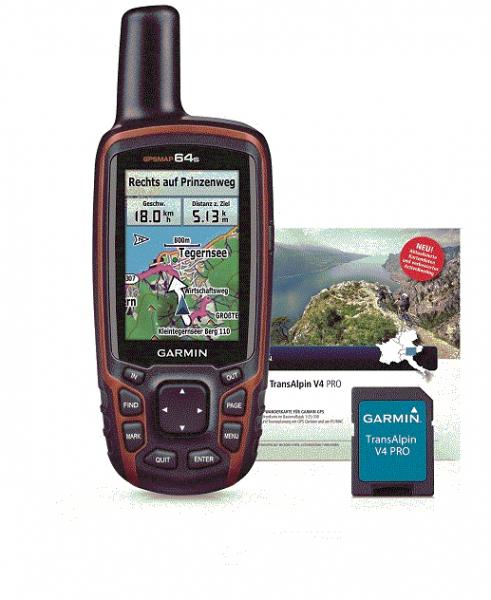 GPSMAP 64s + TOPO Deutschland V7PRO microSD