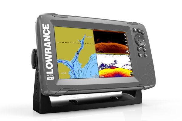 HOOK² 7 SplitShot + GPS-Kartenplotter (+ Geber)