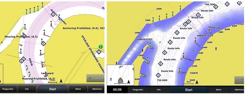 Bluechart G3 Seekarte Verbesserung Binnenbereich