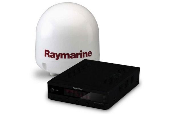 45STV Satelliten TV-Antenne von Raymarine