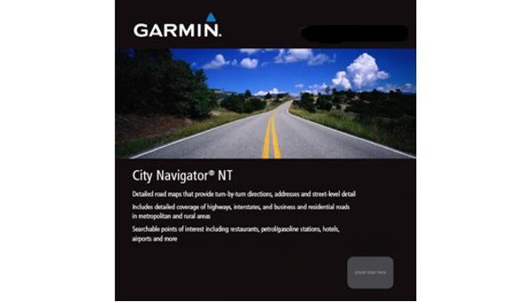City Navigator NT Mittlerer Osten und Nordafrika von Garmin