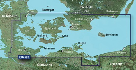Garmin BlueChart g3 Vision VEU459S Arhus-Kiel-Koszalin