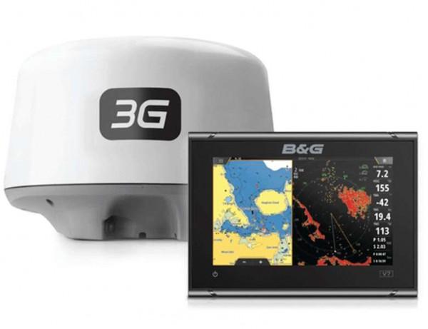 Vulcan 7 R. mit 3G Broadband Radar