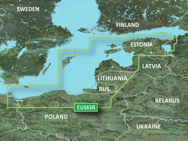 HXEU065R BlueChart g2 HD östliche Ostsee