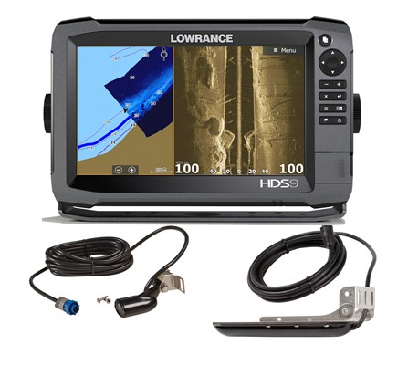 Lowrance HDS-9 inklusive 83/200 kHz und StructureScan 3D Geber