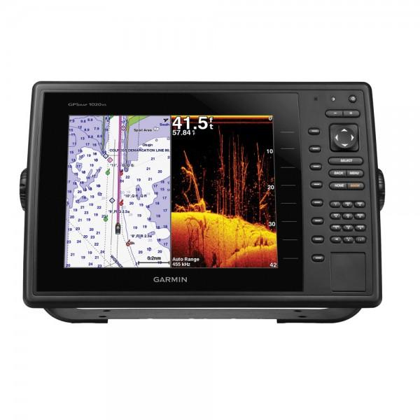 Garmin GPSMAP 1020xs Kartenplotter/Fishfinder mit Tastenbedienung