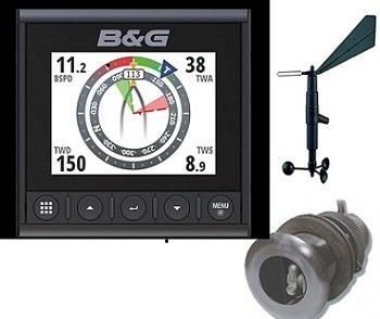 B & G Triton2 System für Wind, Tiefe und Geschwindigkeit