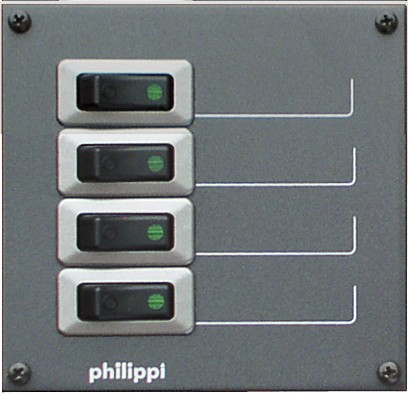 Philippi Stromkreisverteiler STV 204